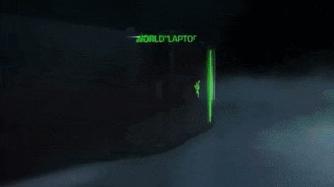 雷蛇Razer CES展-你碰不起的三螢幕電競筆電 4