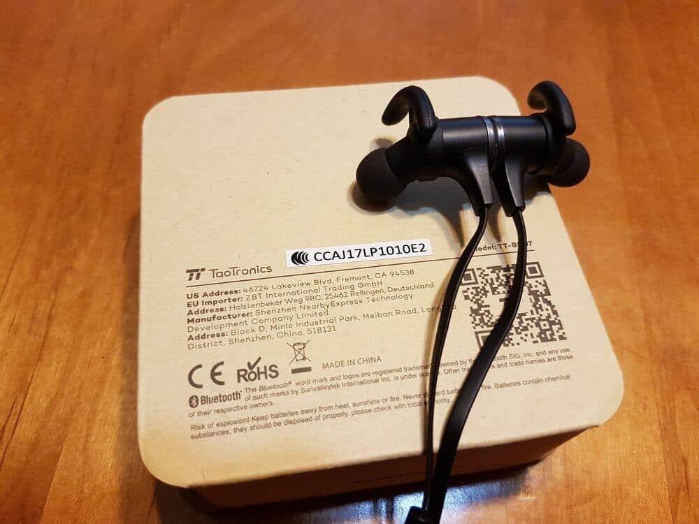 Taotronics TT-BH07 運動藍牙耳機 開箱 - CP值極高的藍牙耳機 2